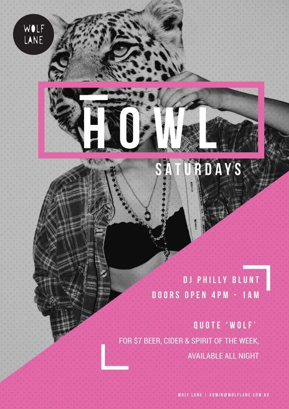 Howl Saturdays party